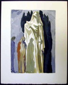 Salvador Dali - Divine Comedy - Farinata