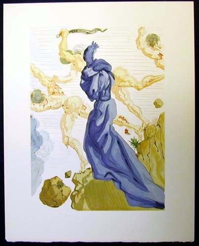 Salvador Dali - Divine Comedy - The Seducers