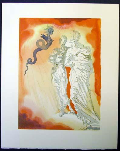 Salvador Dali - Divine Comedy - Fraud