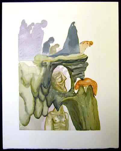 Salvador Dali - Divine Comedy - The Corrupt