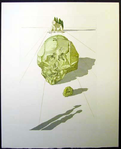 Salvador Dali - Divine Comedy - Ugolino and Ruggieri