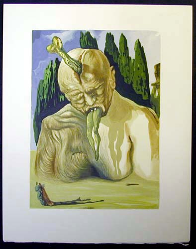 Salvador Dali - Divine Comedy - The Logician Devil