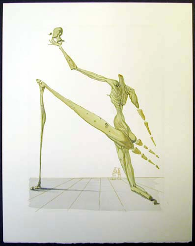 Salvador Dali - Divine Comedy - Bertram dal Bornio