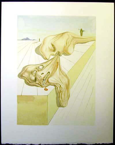 Salvador Dali - Divine Comedy - Gianni Schicchi's Bite