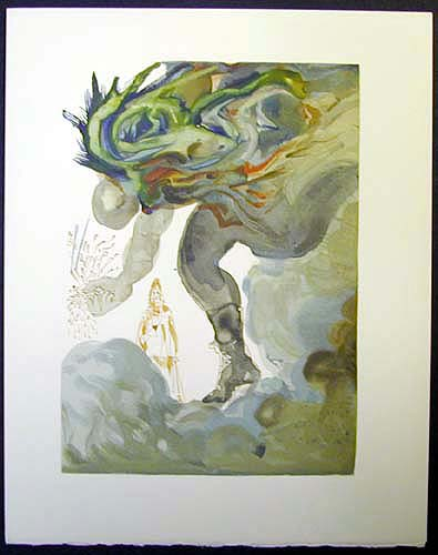 Salvador Dali - Divine Comedy - The Prophecy of Vanni Fucci