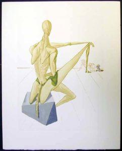Salvador Dali - Divine Comedy - Minos