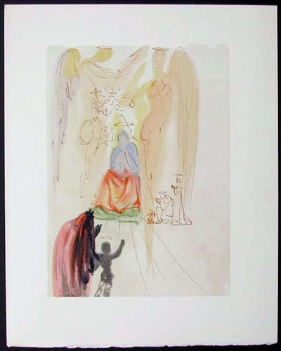 Salvador Dali - Divine Comedy - The Garden of Christ