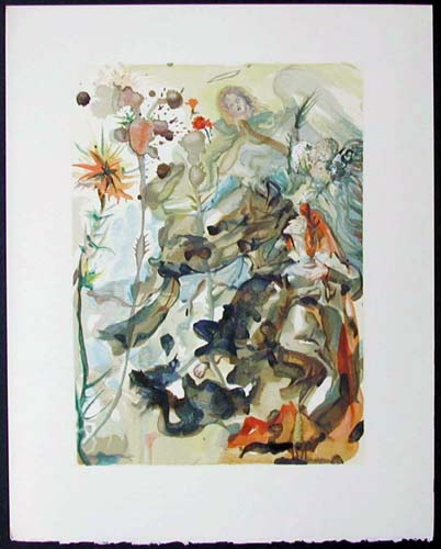 Salvador Dali - Divine Comedy - The Apparition of St. James