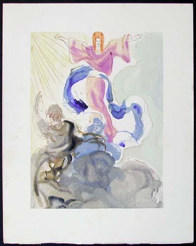 Salvador Dali - Divine Comedy - Piccarda Donati