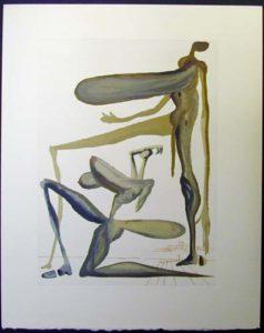 Salvador Dali - Divine Comedy - Prodigality