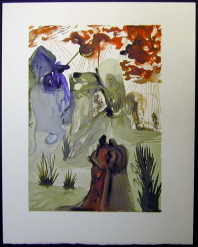 Salvador Dali - Divine Comedy - The Divine Forest