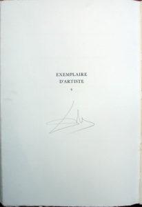 Salvador Dali - L'Art d'Aimer – Ovide - Tirage Page