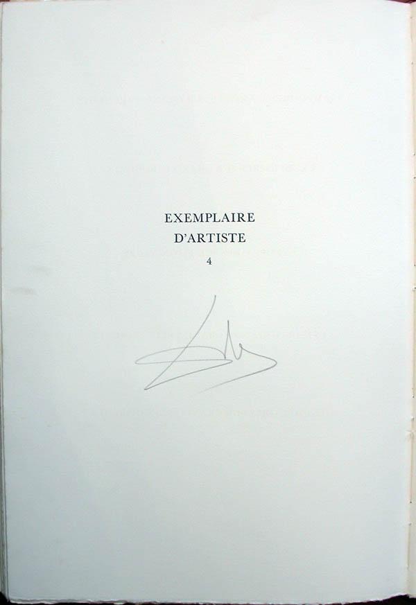 Salvador Dali - L'Art d'Aimer - Ovide - Tirage Page