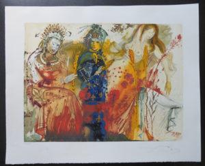 Salvador Dali - Four Seasons - Winter
