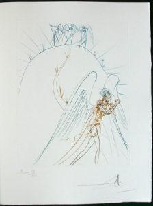 Salvador Dali - Paradise Lost - La Fuite de Satan (Satan's Flight)