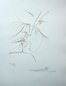 Salvador Dali - Paradise Lost - Le Baiser (The Kiss)