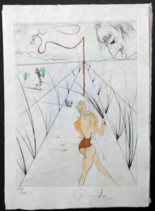 Salvador Dali - La Venus aux Fourrures - Alle des Verges(The Lane of the Birches)