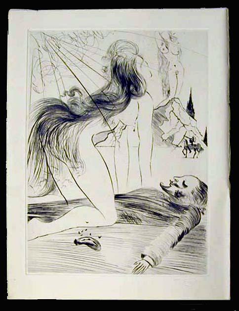 Salvador Dali - La Venus aux Fourrures - La Femme a Genou (The Kneeling Woman)