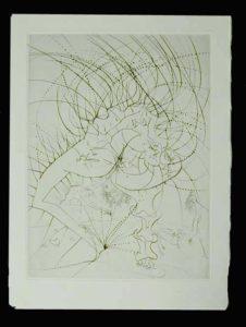 Salvador Dali - La Venus aux Fourrures - La Femme - Feuille (Lady - Leaf)