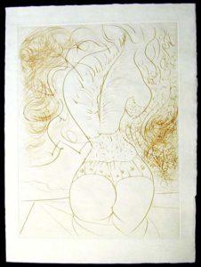 Salvador Dali - La Venus aux Fourrures - Le Torse(The Torso)