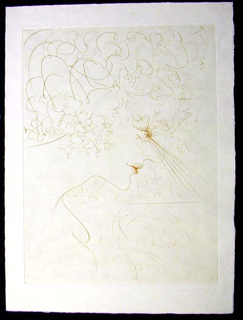 Salvador Dali - La Venus aux Fourrures - La Tete(The Head)