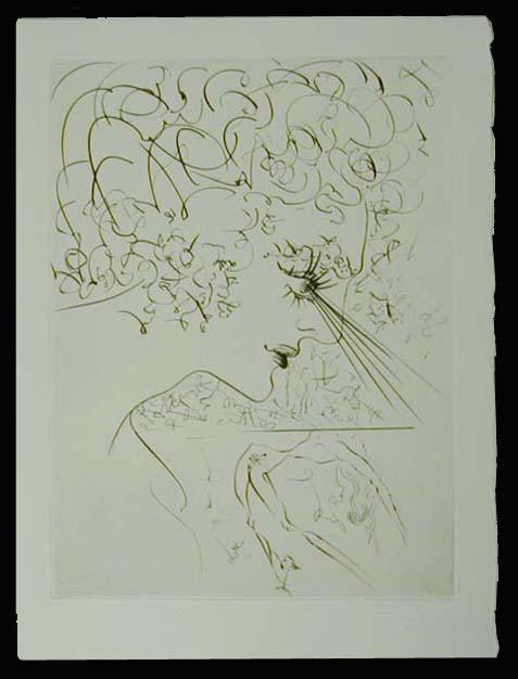 Salvador Dali - La Venus aux Fourrures - La Tete (The Head)