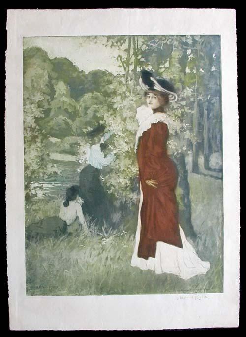 Manuel Robbe Fleur d'Automne - 1905