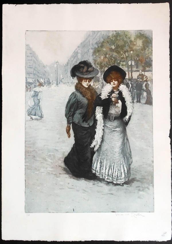 Manuel Robbe Les Midinettes - 1906