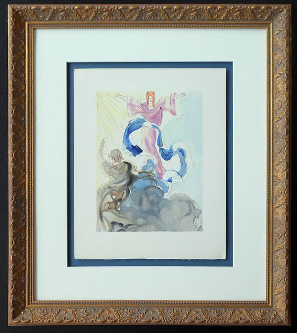 Salvador Dali - Divine Comedy Framing - floated