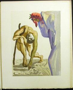 Salvador Dali - Divine Comedy Specimen Book - Capricorn