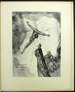 Salvador Dali - Divine Comedy Specimen Book - Cancer