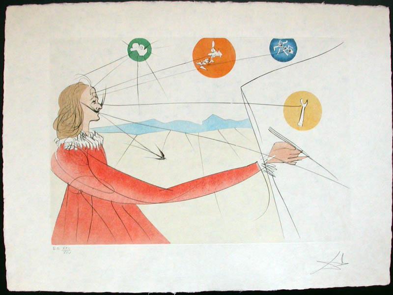 Salvador Dali - Dalinean Prophecy - Dalinean Prophecy
