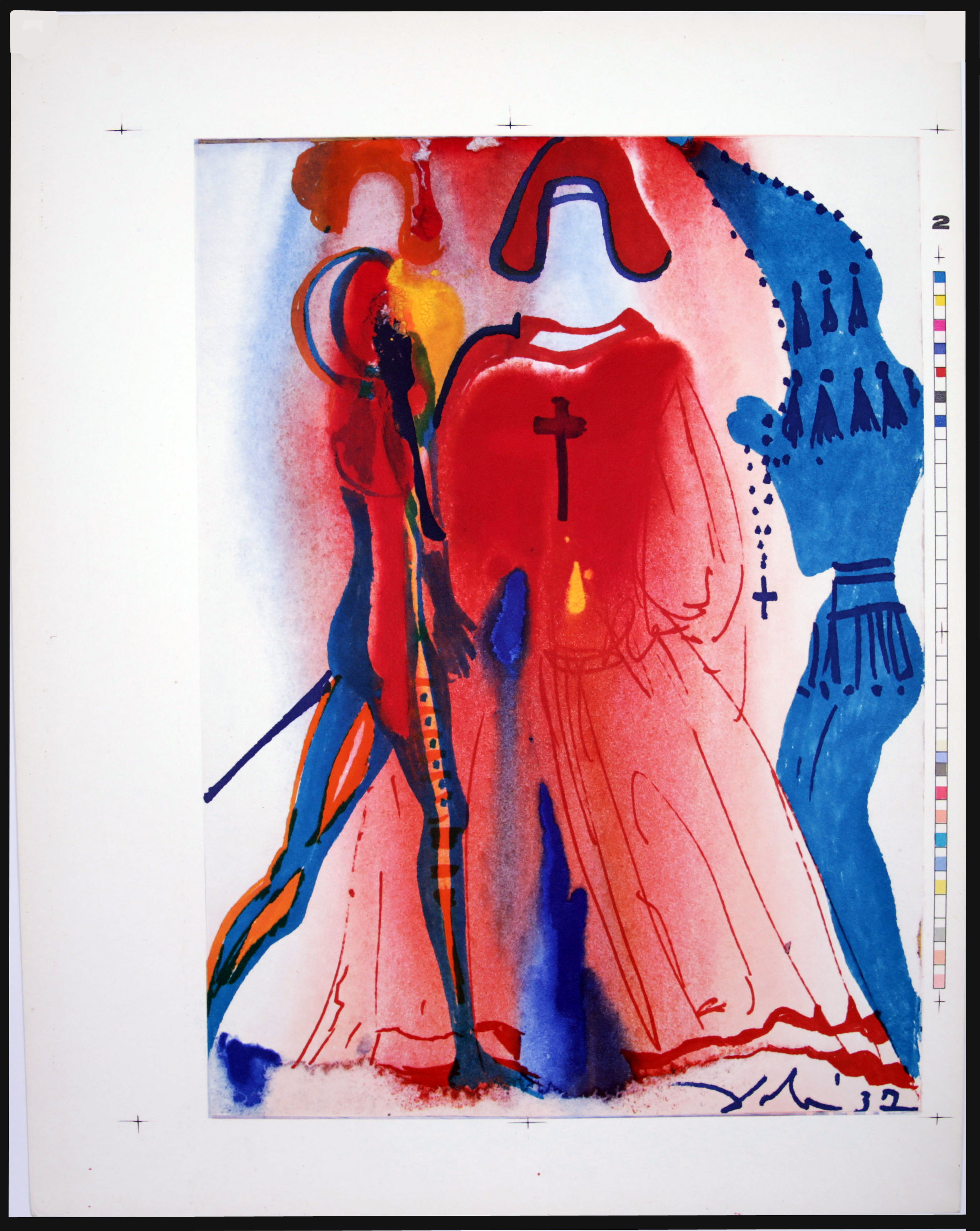 Salvador Dali - Romeo and Juliet - Romeo5b.jpg