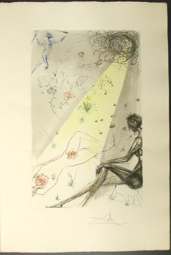 Salvador Dali - Song of Songs of Solomon - The Shepherd