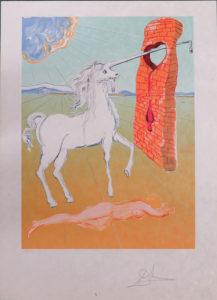 Salvador Dali - Retrospective - The Agony of Love
