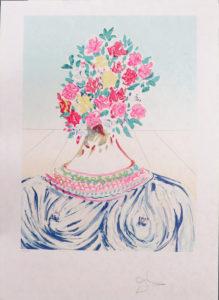 Salvador Dali - Retrospective - The Flowering of Insipiration