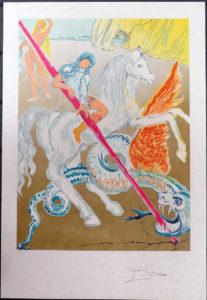 Salvador Dali - Retrospective - The Lance of Chivalry